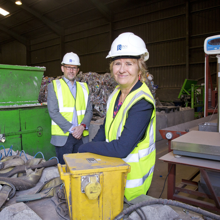Beacon of hope for recycling as major funding agreement signed on plastics plant