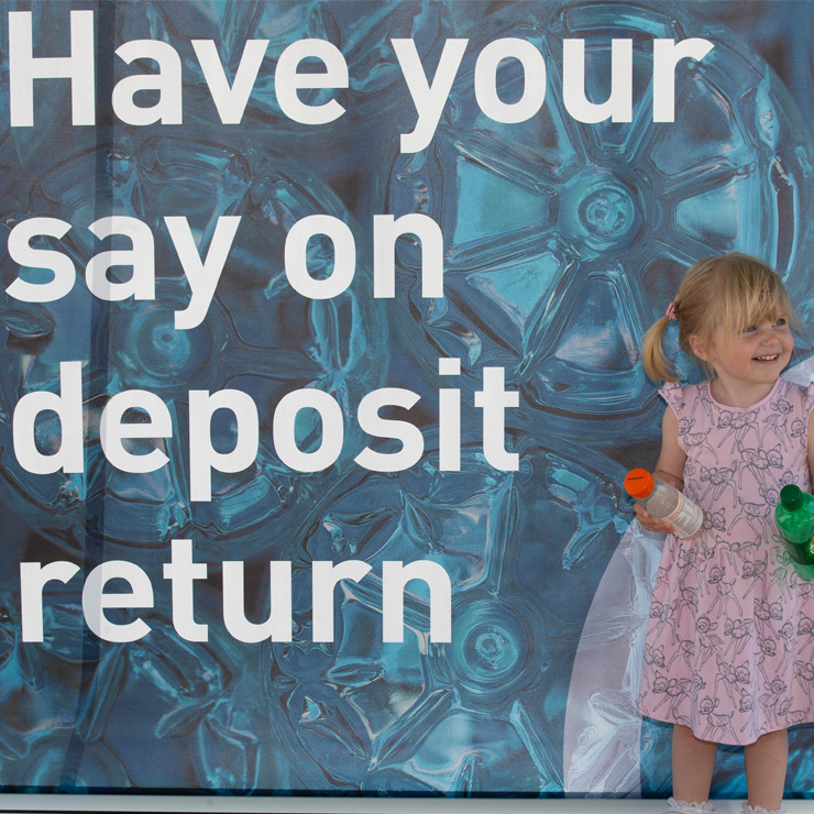 Views sought on deposit return at events across Scotland