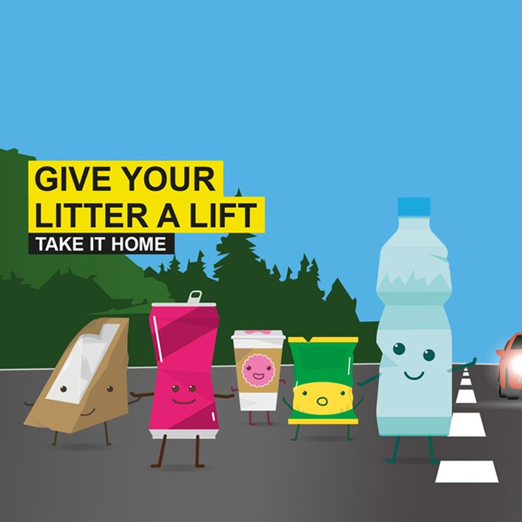 Keep Scotland Beautiful launch roadside litter awareness week