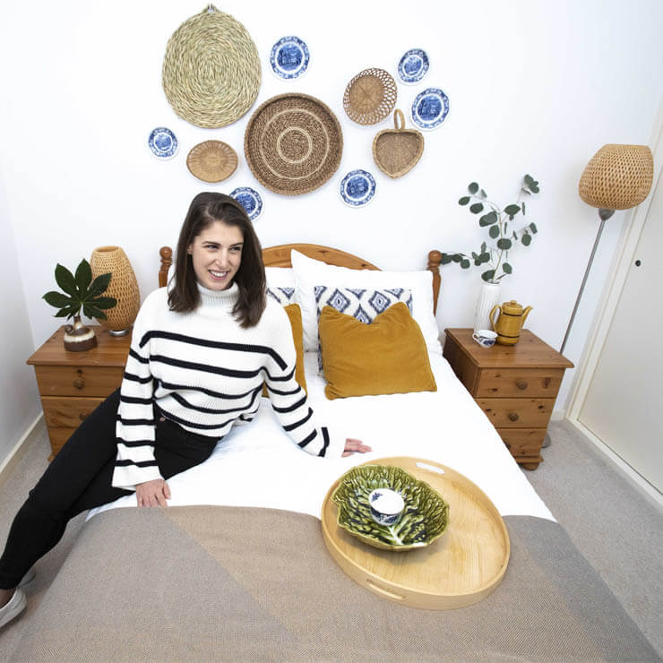 Glasgow stylist goes second hand for first home furnishings with Revolve