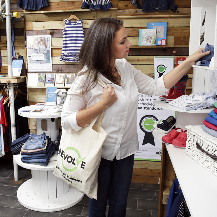 New figures show shift in scots second hand culture as revolve network provides greater quality and choice