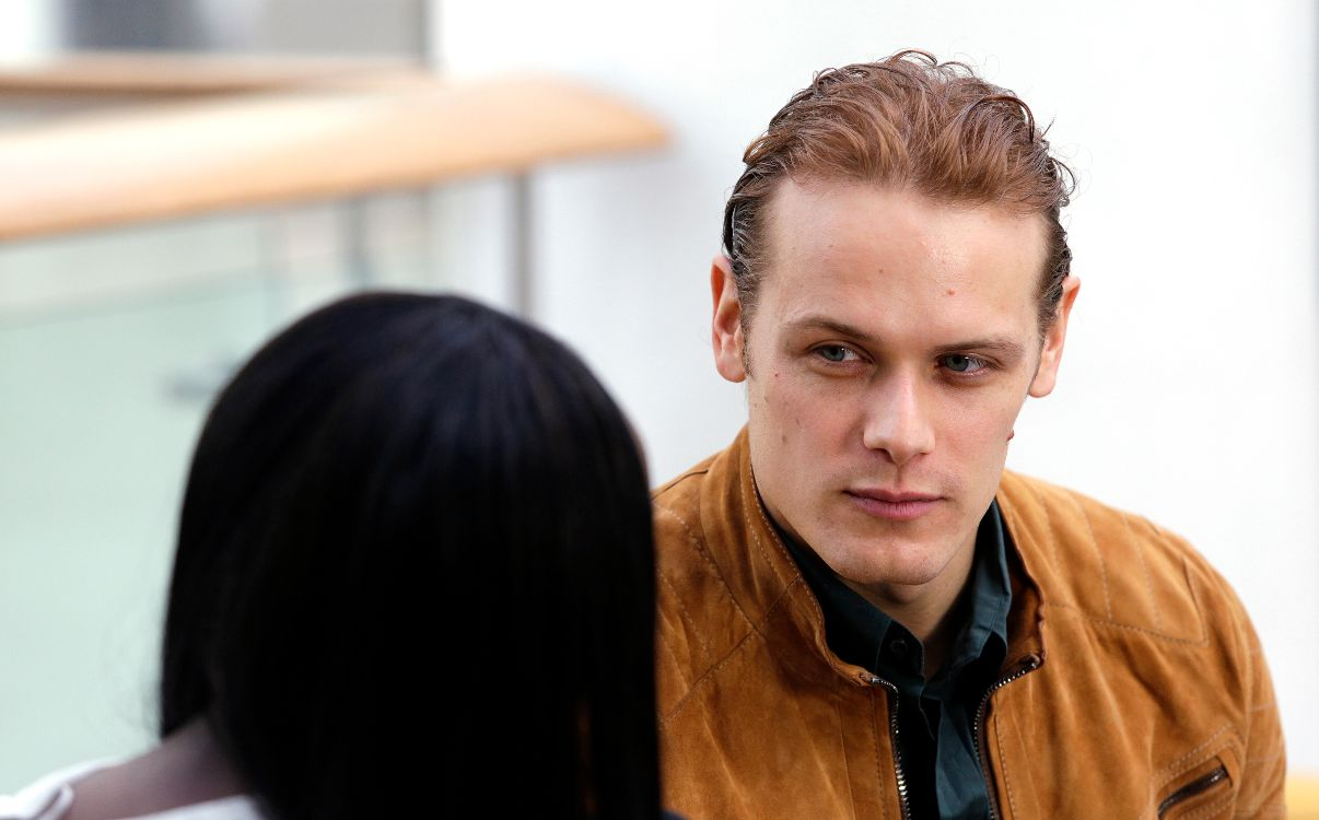 Sam Heughan talking about Pass it on Week