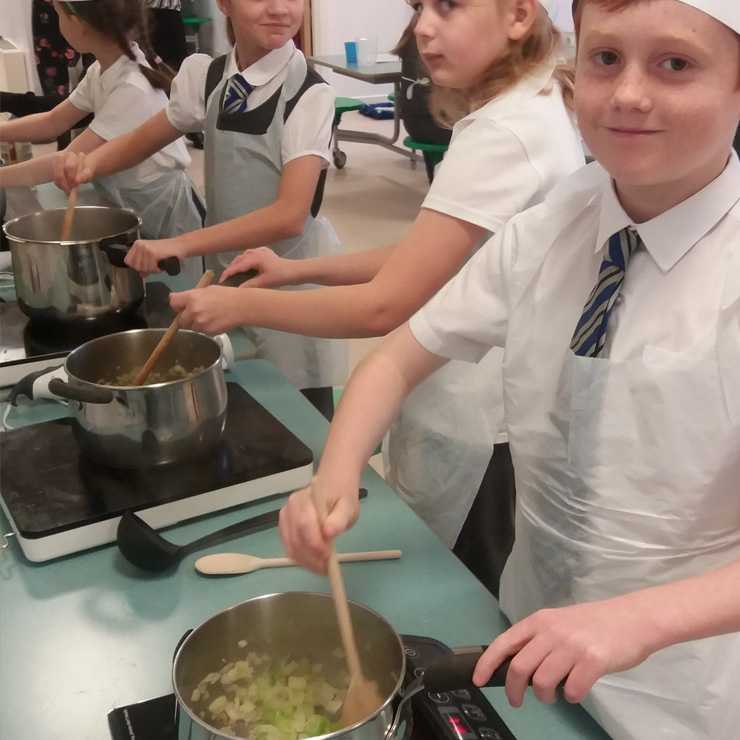 School Soup-a-thon shortlisted for EWWR Award