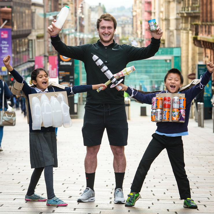 Stuart Hogg needs YOU to be a 'waste warrior'
