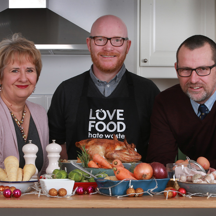Masterchef winner & Scotland's National Chef, Gary Maclean, joins the festive fight against food waste as 60 million meals in Scotland go uneaten