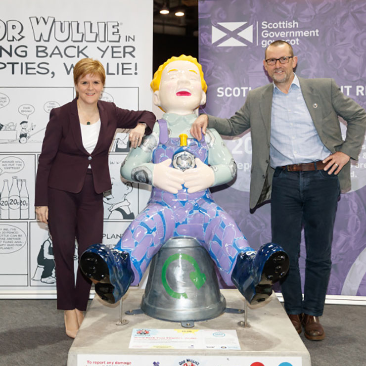 First Minister joins Zero Waste Scotland to say