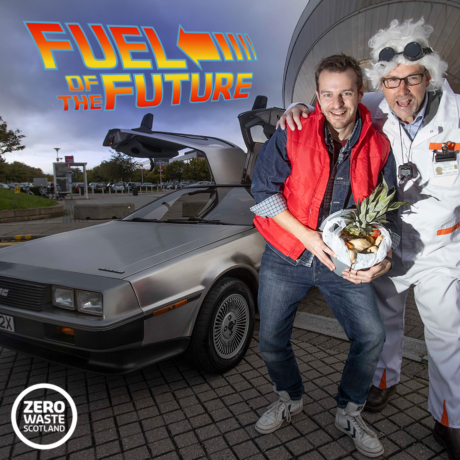 Great Scots! Food waste, the Back to the Future fuel for the 21st Century