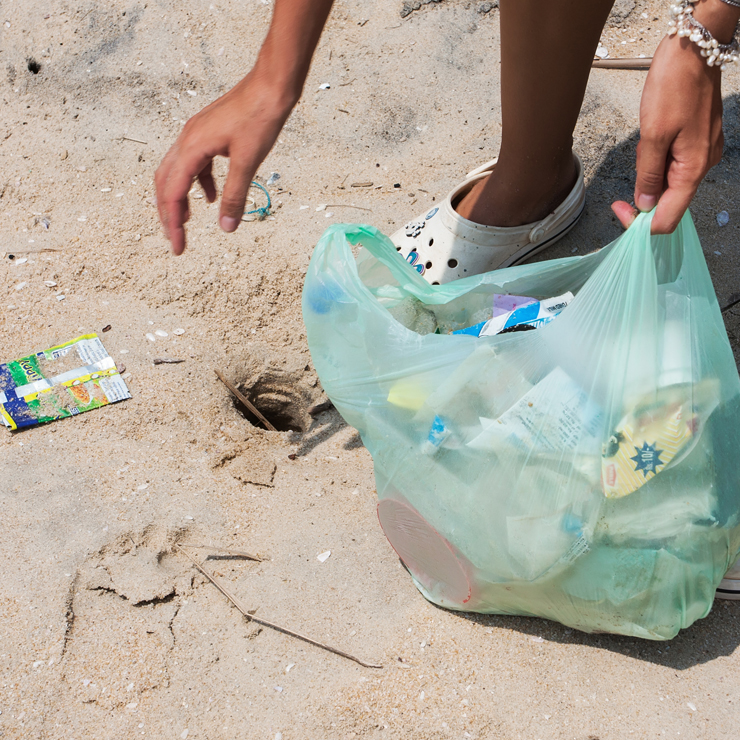 Turning the tide on single-use plastics