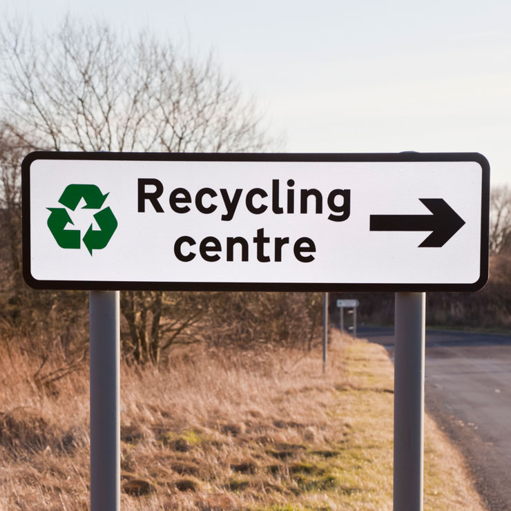 Scots told to plan ahead in advance of recycling centres 1st June reopening